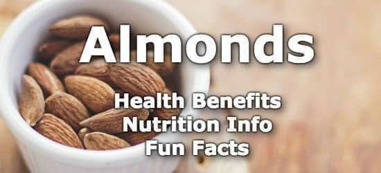 Top 5 Health Benefits of Almonds + Nutrient Info and Fun Facts
