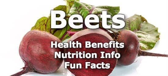 Top 5 Health Benefits of Beets + Nutrition Info and Fun Facts