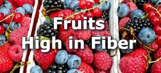 29 Fruits High in Fiber
