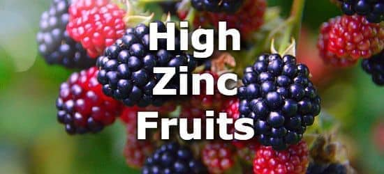 The Top 10 Fruits Highest in Zinc