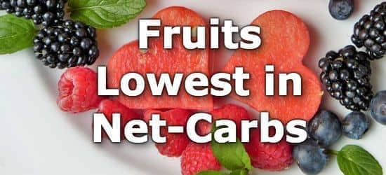 Top 10 Fruits Low in Net Carbs