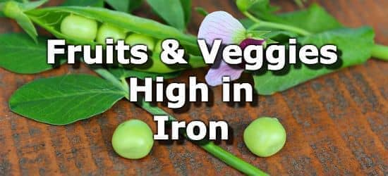 Fruits and vegetables high in iron workwithnaturefo