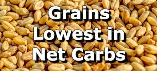 Grains Low in Net Carbs