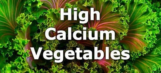 33 Vegetables High in Calcium
