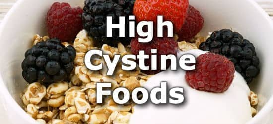 Top 10 Foods Highest in Cystine (Cysteine)