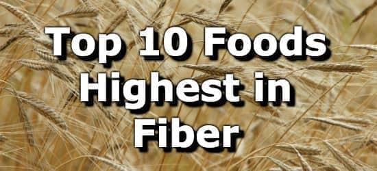 image relating to Printable List of High Fiber Foods identify Best 10 Meals Utmost in just Fiber