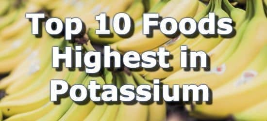 picture regarding Low Potassium Food List Printable identified as Greatest 10 Foodstuff Most inside Potium