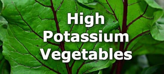 20 Vegetables High in Potassium - A Ranking from Highest to Lowest