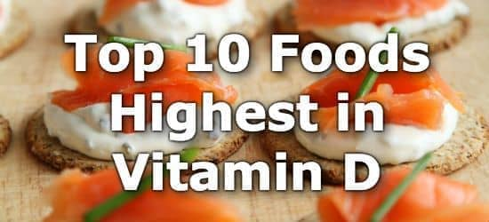 Top 10 High Vitamin D Foods