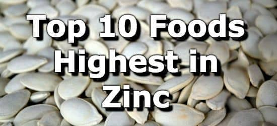 The Top 10 Foods Highest in Zinc