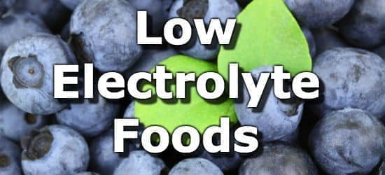 10 Low Electrolyte Foods for People with Chronic Kidney Disease
