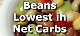 Beans and Legumes Low in Net Carbs
