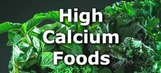 High Calcium Foods