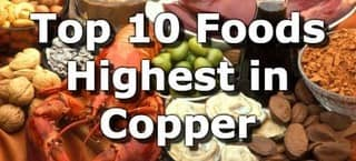 High Copper Foods