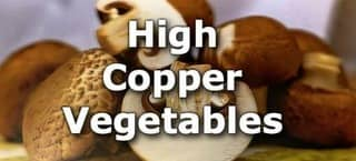 High Copper Vegetables