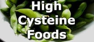 High Cysteine Foods