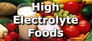 Foods High in Electrolytes
