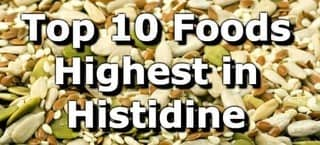 High Histidine Foods