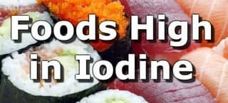 High Iodine Foods