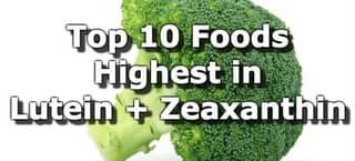 High Lutein and Zeaxanthin Foods