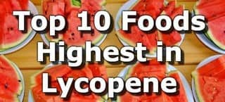 High Lycopene Foods