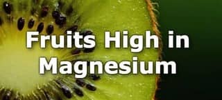 High Magnesium Fruits