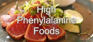 High Phenylalanine Foods