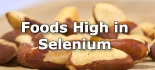 High Selenium Foods