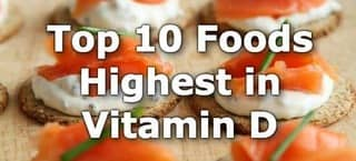 High Vitamin D Foods
