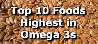 High Omega 3 Foods