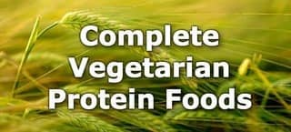 Protein Foods for Vegetarians