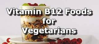 Vitamin B12 Foods for Vegetarians