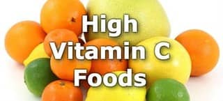 High Vitamin C Foods