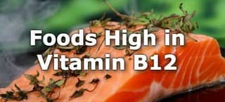 High Vitamin B12 Foods