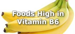 High Vitamin B6 Foods