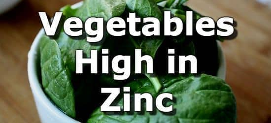 Vegetables Contain Zinc Top 10 vegetables highest in zinc workwithnaturefo