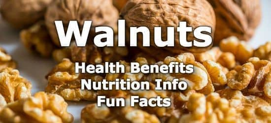 Top 5 Health Benefits of Walnuts + Nutrition Info and Fun Facts